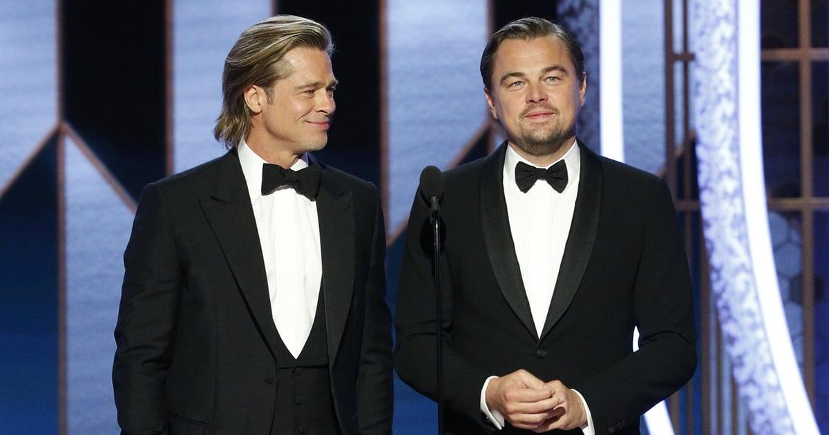 Brad Pitt's Speech at the Golden Globes 2020 Video