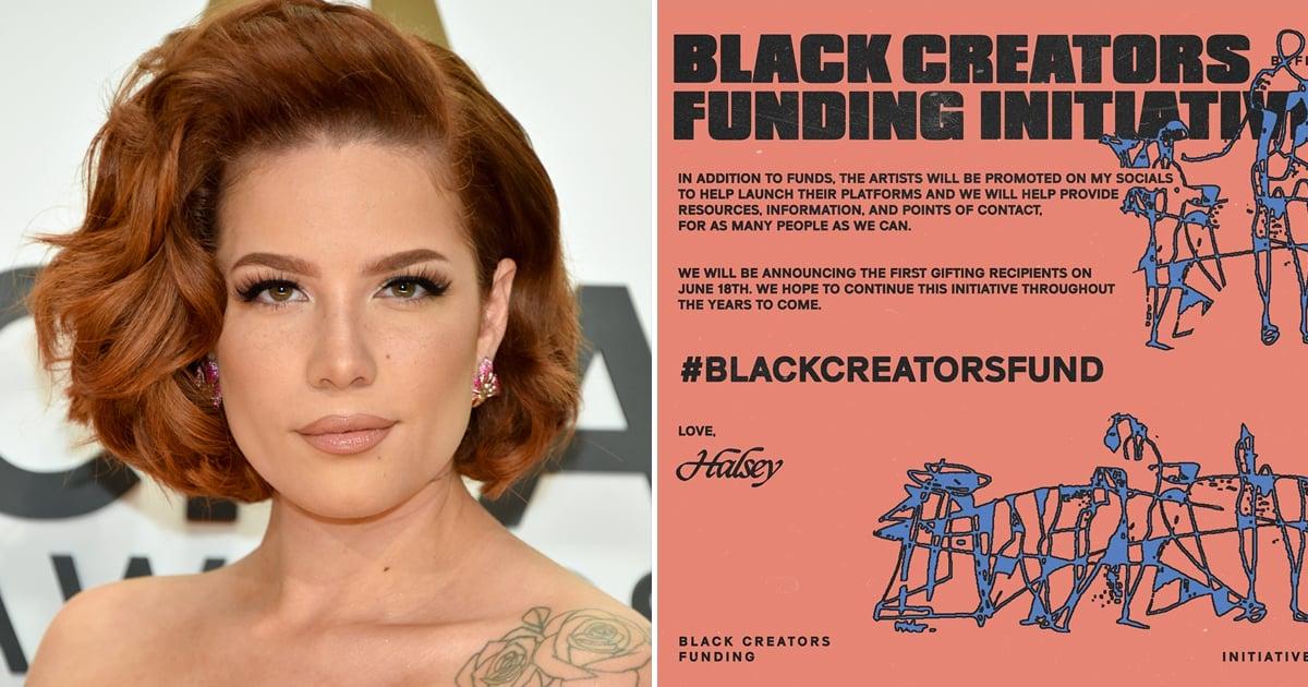 Halsey Launches Black Creators Funding Initiative